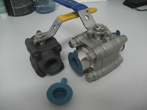 Forge Square Shape Ball Valve